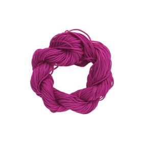 Mcord ™ / Macramé cord / nylon / 1mm / light magenta / 27m