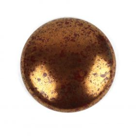 Par Puca Large Cabochon 25mm Opaque Chocolate Bronze Pk1