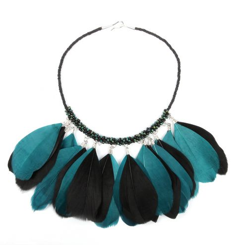 Kumihimo Plume Necklace | Take A Make Break