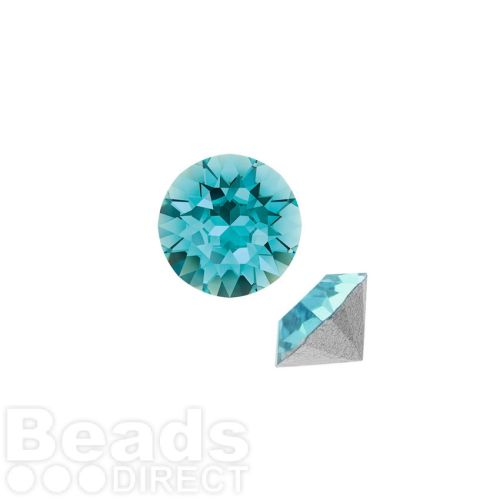 1088 Swarovski Crystal Chaton SS29 6mm Light Turquoise F Pk6