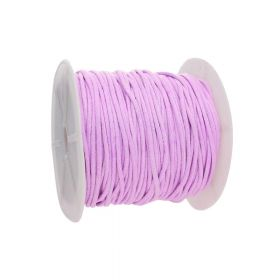 Waxed cord / 2.0mm / light pink / 72m
