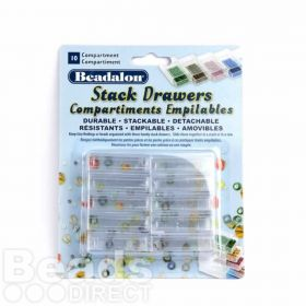 Beadalon Stack Drawers 10 Piece Set