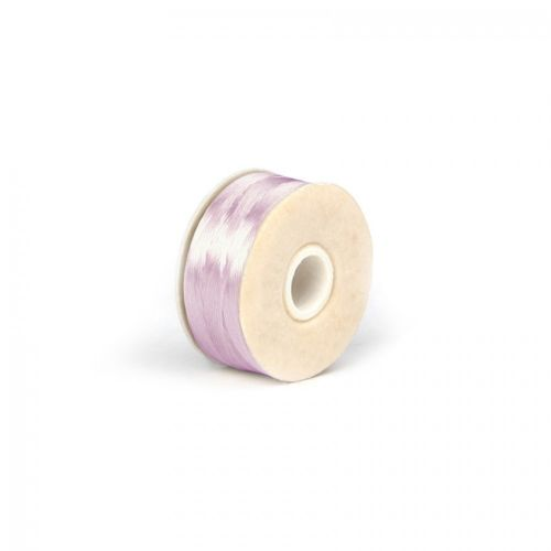 Nymo Beading Thread Size D 0.3mm Soft Pink 64yards