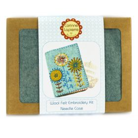Corinne Lapierre Needle Case Felt Embroidery Craft Kit