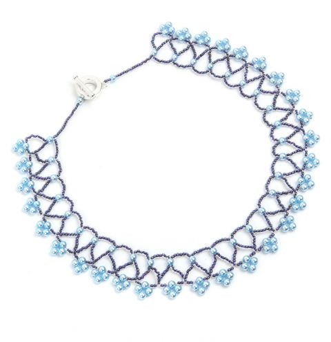 Netted Pearl Necklace | Take a Make Break