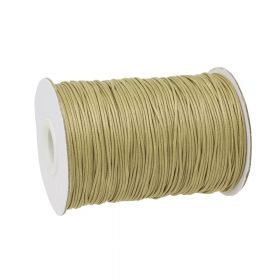 Coated twine / 1.0mm / beige / 160m