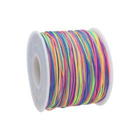 Macrame ™ / Macrame cord / nylon / 0.6mm / multicolour / 135m