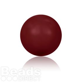 5810 Swarovski Glass Pearls 6mm Crystal Bordeaux Pk500