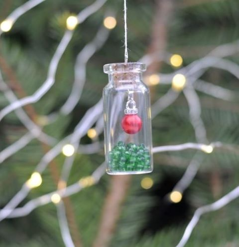 Enchanted Bottle - simple Christmas Decorations for children