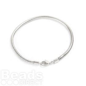 180000 Swarovski 203mm Rhodium BeCharmed Bracelet with Lobster Clasp Pk1