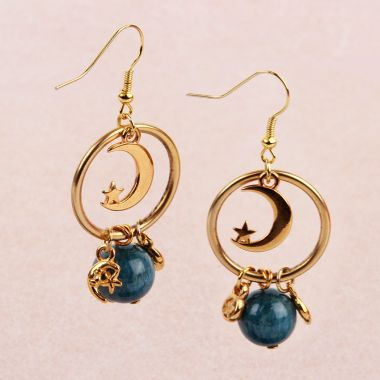 Planet Orbit Earrings