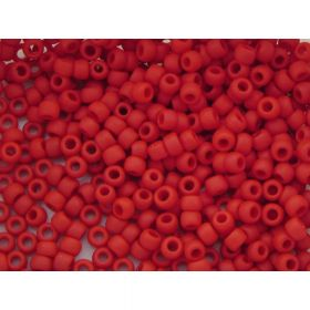 TOHO™ / Round 8/0 / Opaque Frosted / Pepper Red / 10g / ~410pcs