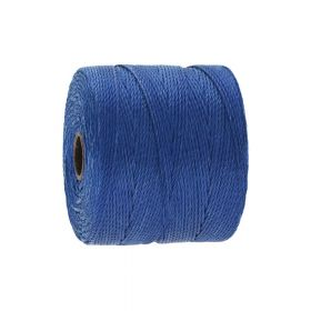 BEADSMITH ™ / thread SuperLon Fine / nylon / Tex 135 / College Blue / 0.5mm / 108m