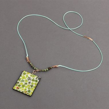 Leafy Green Necklace