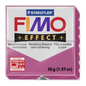 Staedtler Fimo Effect Polymer Clay Ruby Quartz 56g(1.97oz)