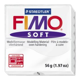 Staedtler Fimo Soft Polymer Clay White 56g (1.97oz)
