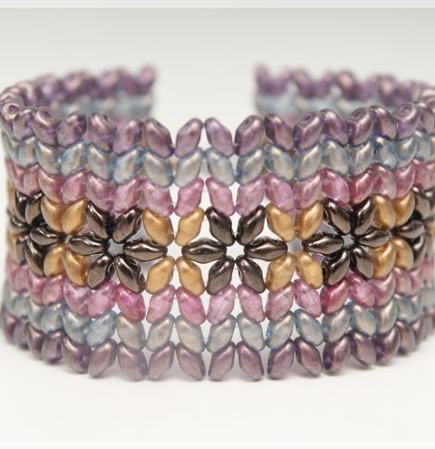 How to make a SuperDuo bracelet – a jewellery making tutorial