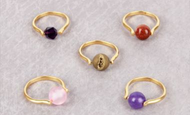 Gemstone Rings | Mini-Make Monday