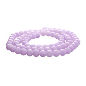 Mistic™ / round / 12mm / pale purple / 65pcs