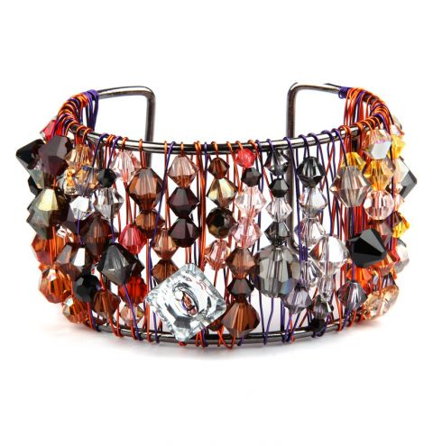 Swarovski Volcanic Bangle 'Crystal Mix Collection'