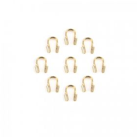 Gold Plated Wire Guardian Pk20