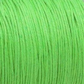 Waxed cord / lime / 1.0mm / 1m