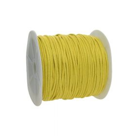 Waxed cord / yellow / 2.0mm / 72m