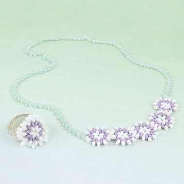 Crocus Flower Jewellery