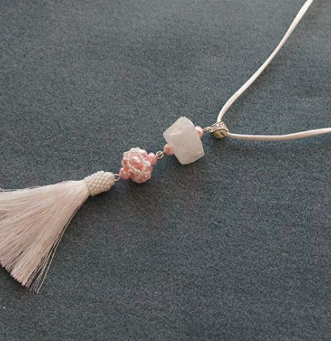 Cubic Right Angle Weave Tassel Necklace - CRAW Jewellery Making Tutorial