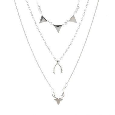 Sterling Layer Necklace
