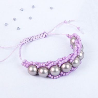 Pearl Orbit Bracelet | Take a Make Break