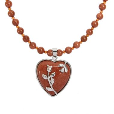 Mother Goldstone Necklace