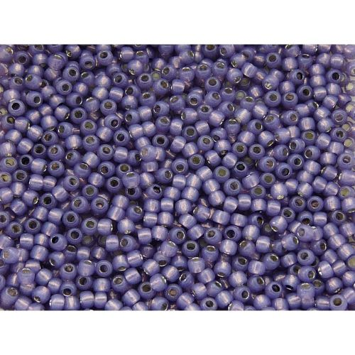 TOHO™ / Round 11/0 / Silver Lined Milky / Lavender / 10g / ~1100pcs