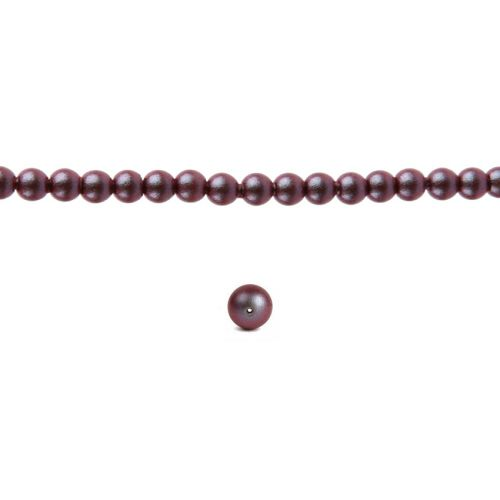 5810 Swarovski Glass Pearl 2mm Crystal Iridescent Red Pk100