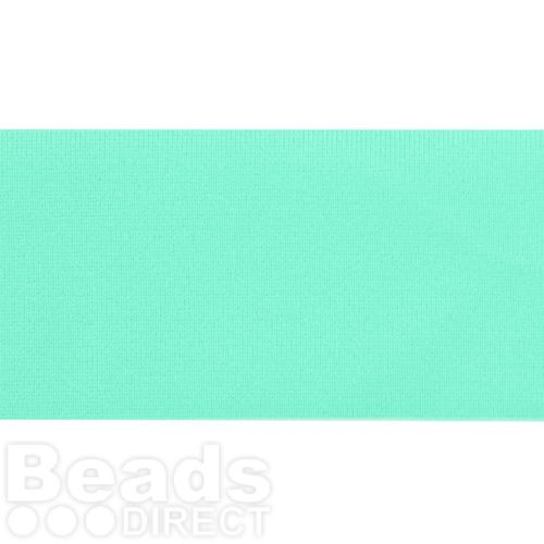 X-Mint Green Lycra Ribbon Cord 30mm Pre Cut 1 Metre