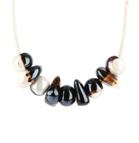 Sandy Beach Pebble Necklace