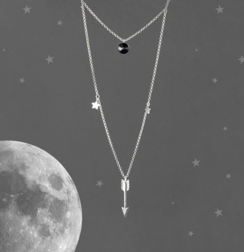 'To the Moon and Back' Necklace