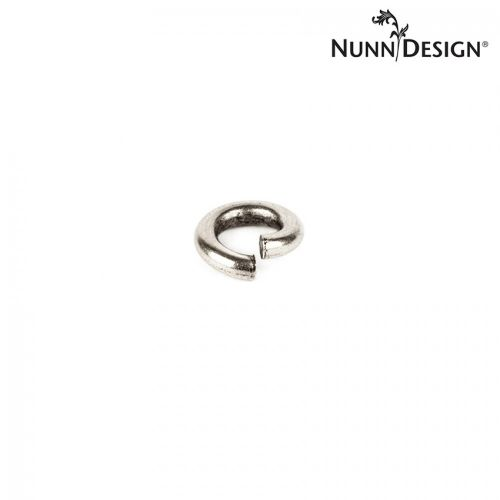 Nunn Design Antique Silver Jump Rings 1x5mm Pk10