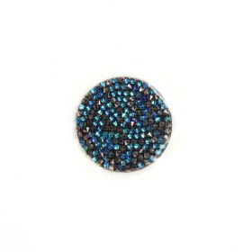 702429 Swarovski Crystal Fine Rocks 26mm Bermuda Blue Pk1