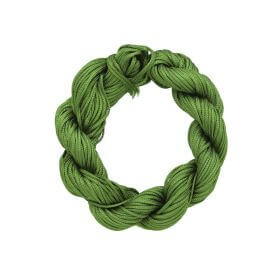 Mcord ™ / Macramé cord / nylon / 1.5mm / light grass / 13m