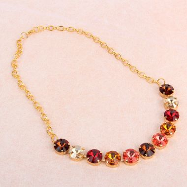 Crystal Sunset Necklace