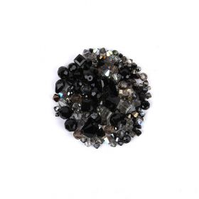 Swarovski Vintage Bead Mix - Silver Night 25g