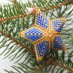 How to make a TOHO beaded star – a jewellery making tutorial