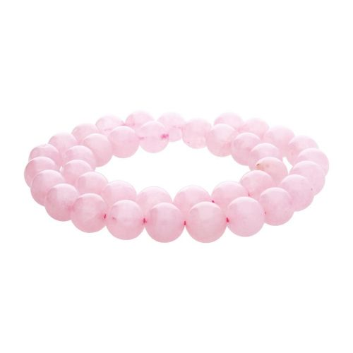 Rose Quartz / Round / 8mm / 46pcs