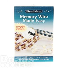 Beadalon Memory Wire Made Easy Booklet by Katie Hacker