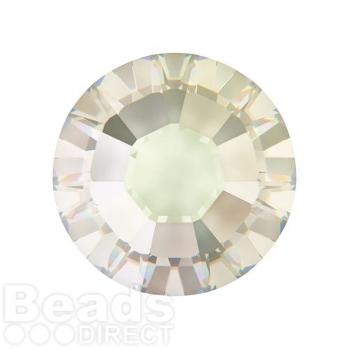 2078 Swarovski Crystal Hotfix Round 7mm SS34 Crystal Moonlight A HF Pk144