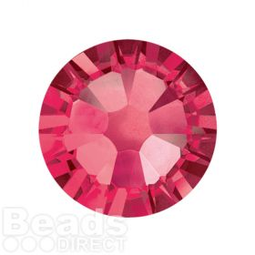 2088 Swarovski Crystal Flat Backs Non HF 7mm SS34 Indian Pink Pk144