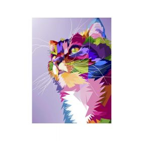 Diamond painting / mosaic 5d / cat / 30x40cm / 1 pc