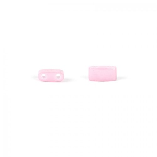Miyuki Rectangle Half Tila 2 Hole 2x5mm Opaque Pink 5g