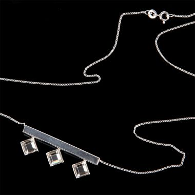 Adelle Sterling Silver Necklace
